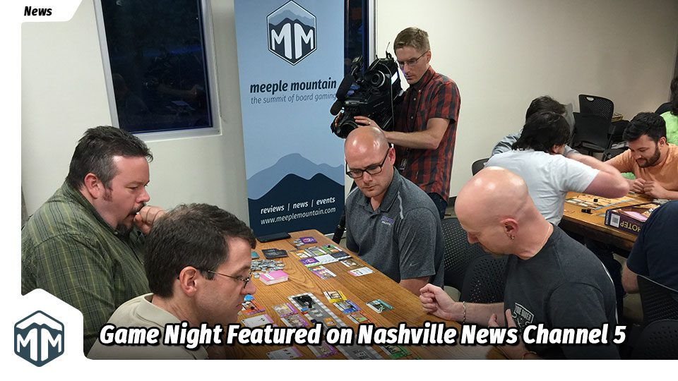 Nashville Game Night Featured on Nashville News Channel 5