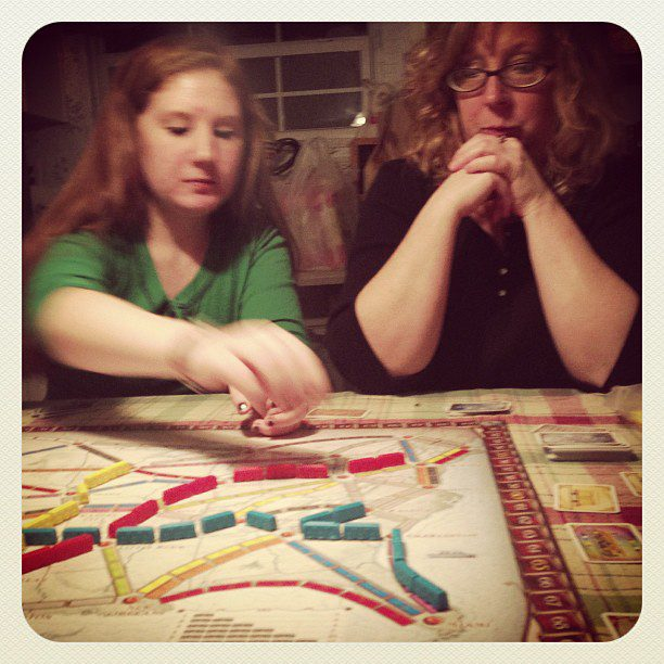 Our first Christmas game