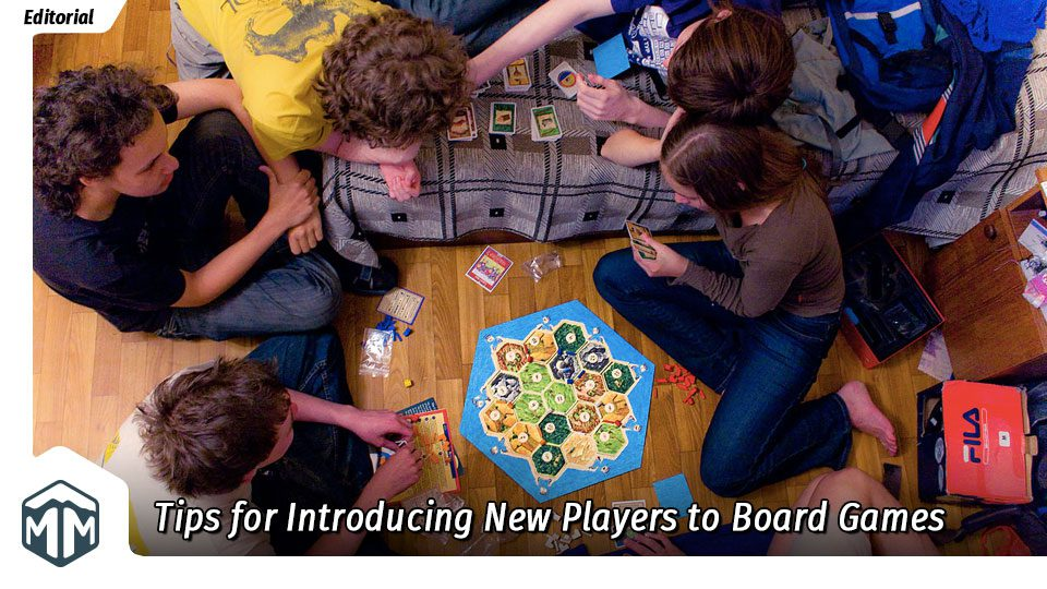 Tips for introducing new players to board games
