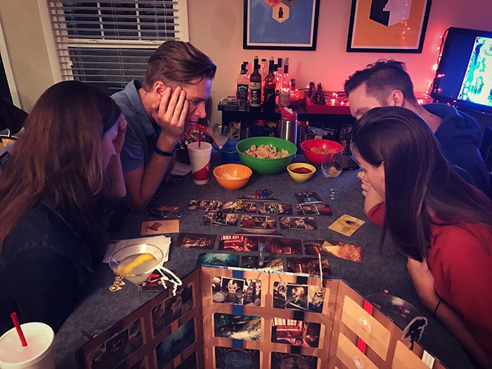 Spooky game night Mysterium
