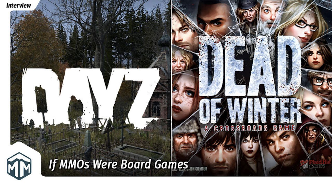 If MMOs were Board Games crossover header