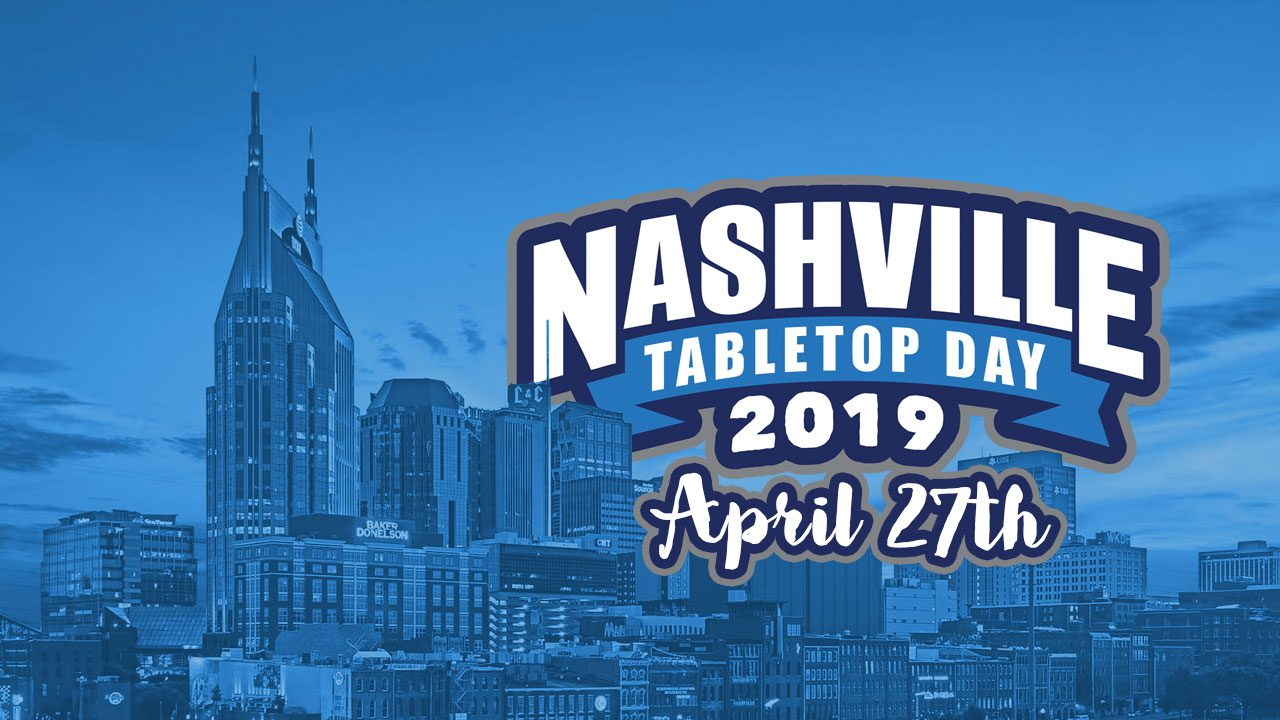 Nashville Tabletop Day 2019 header