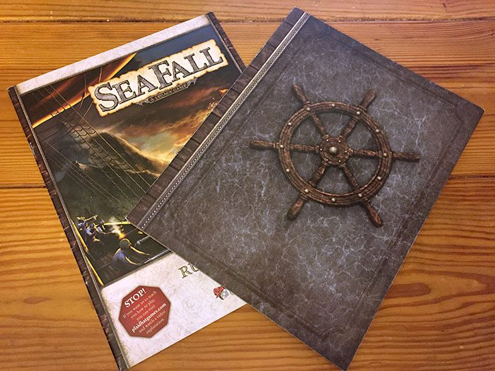 Seafall captain's book