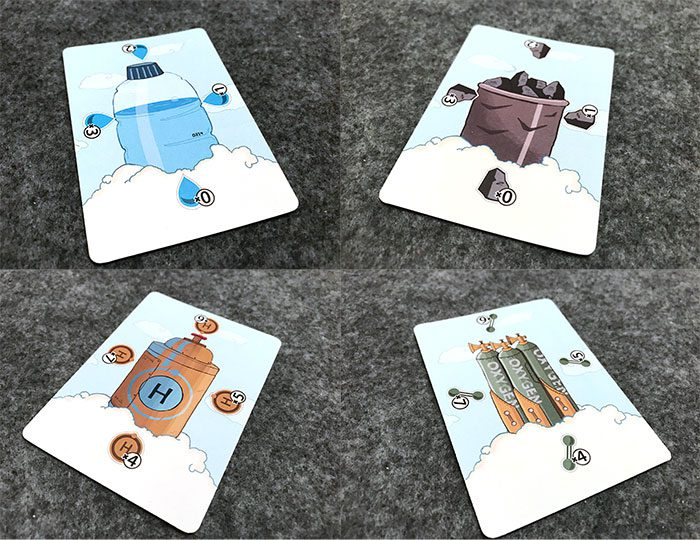 Ahead in the Clouds resource cards