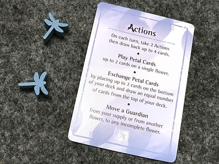 Lotus action cards