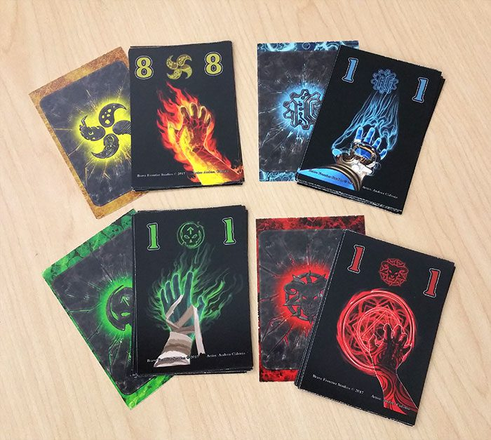 Mage cards
