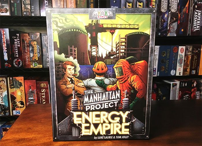 Manhattan Project: Energy Empire cover
