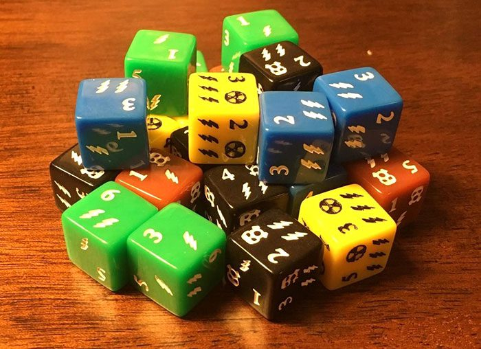 Manhattan Project: Energy Empire dice