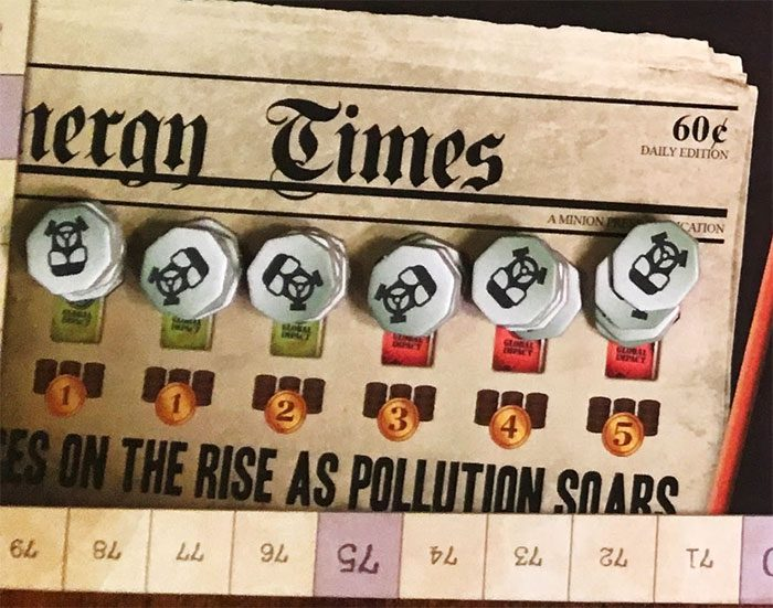Manhattan Project: Energy Empire pollution counters