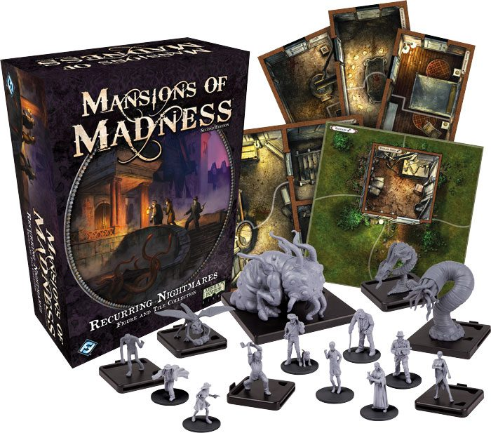 Manions of Madness Recurring Nightmares expansion