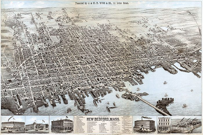 New Bedford map