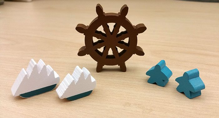 New Bedford select wooden pieces