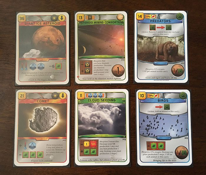 "Terraforming Mars ""take-that"" cards"