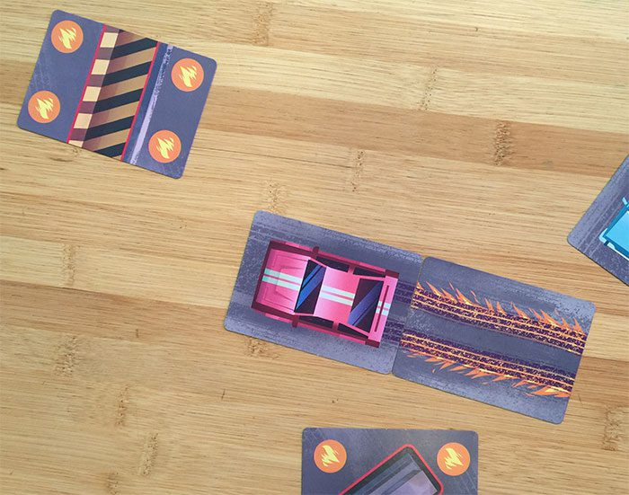 Turbo Drift movement cards 1-2 cards