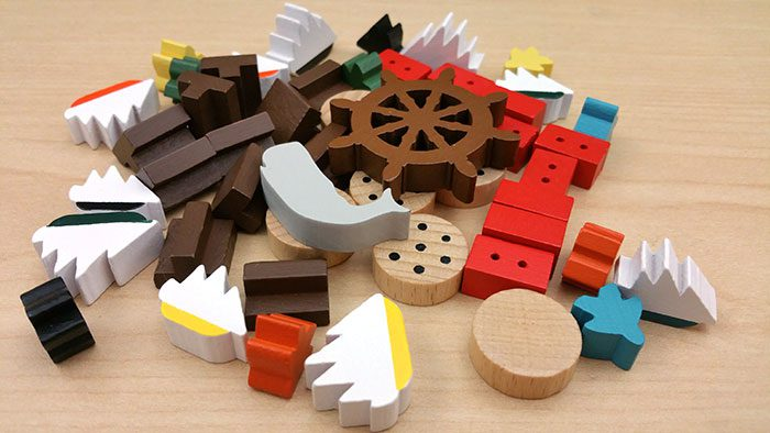 New Bedford wooden pieces