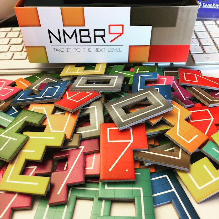 NMBR 9 all tiles showing