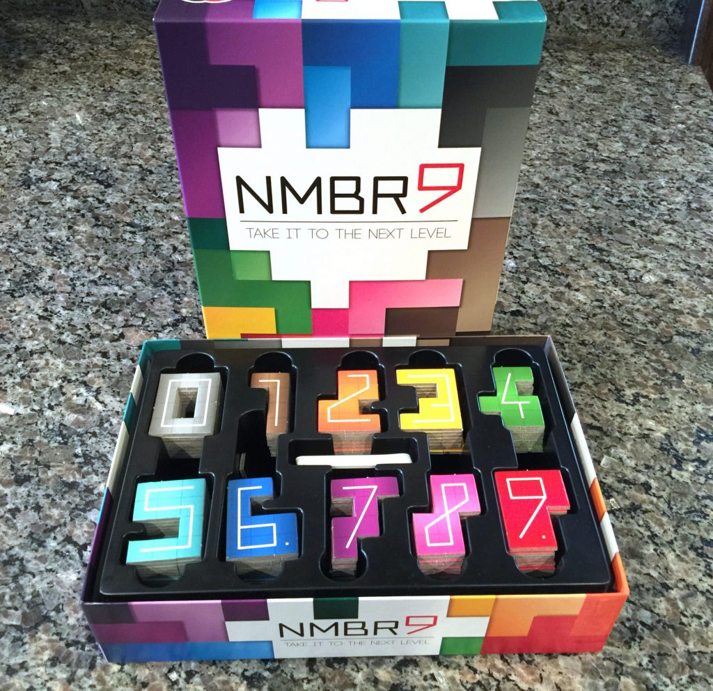 NMBR 9 box and insert