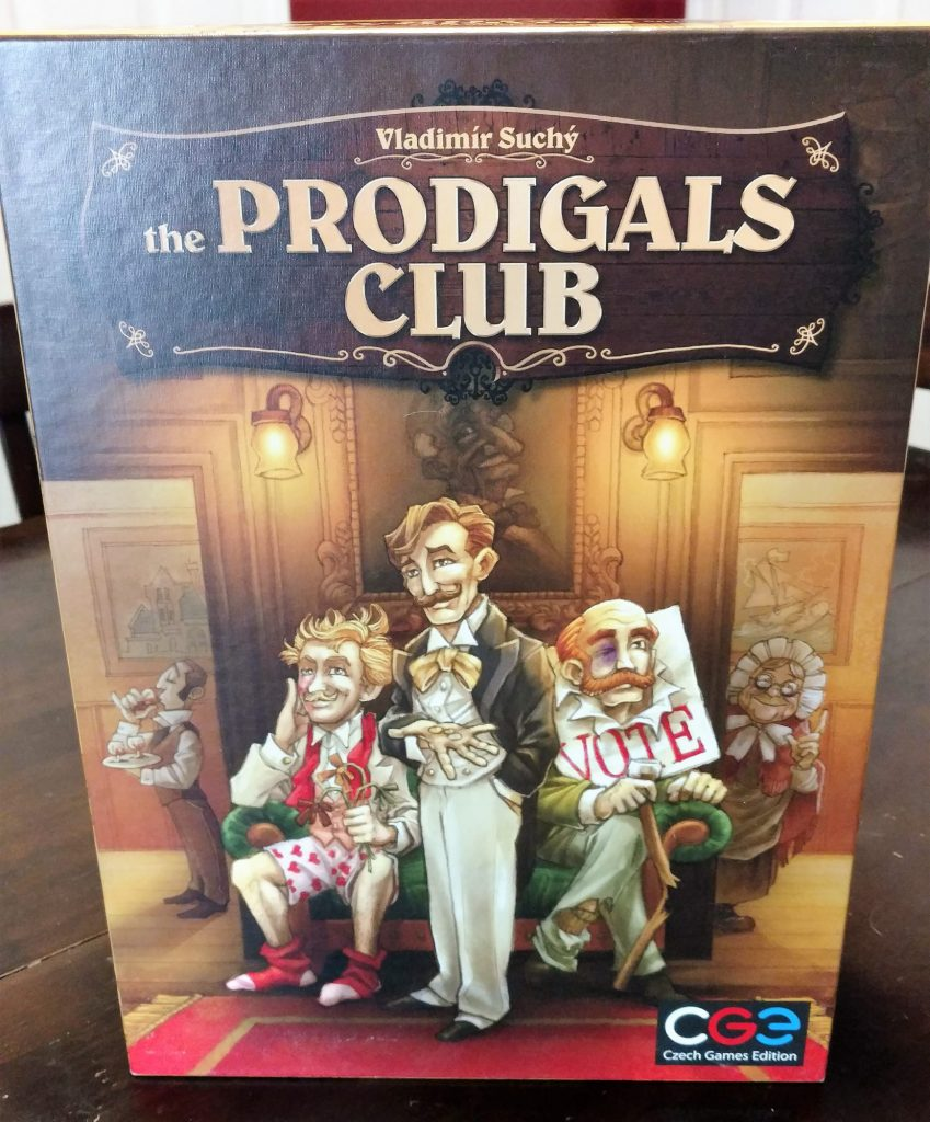 The Prodigals Club cover