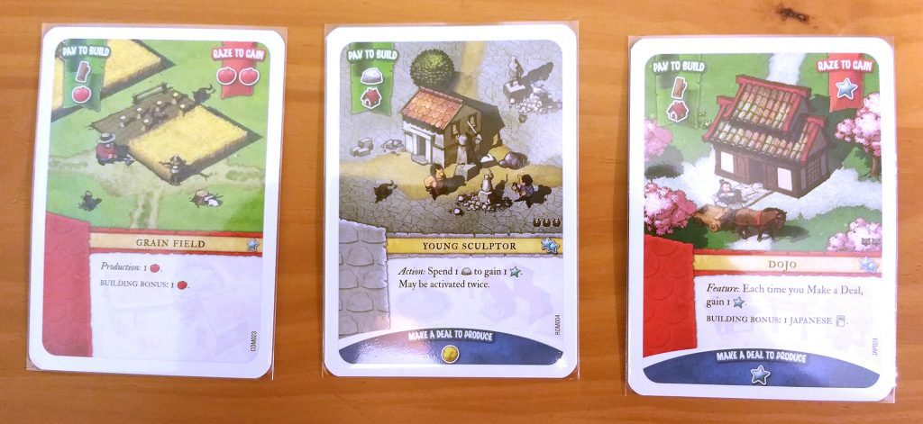 Imperial Settlers card samples
