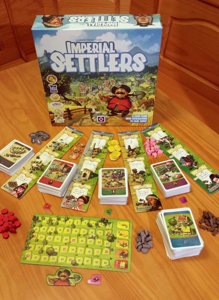 Imperial Settlers contents