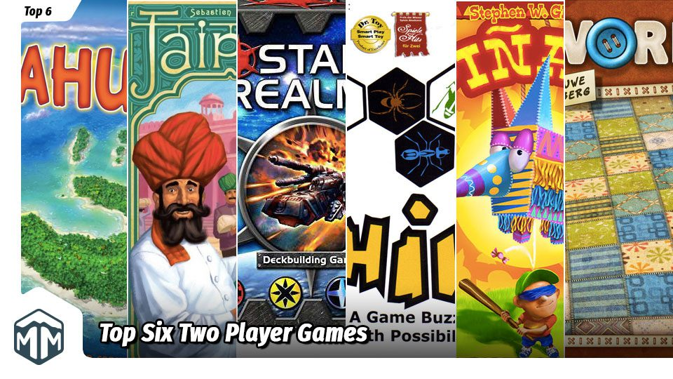 Top 6 Two Player Games
