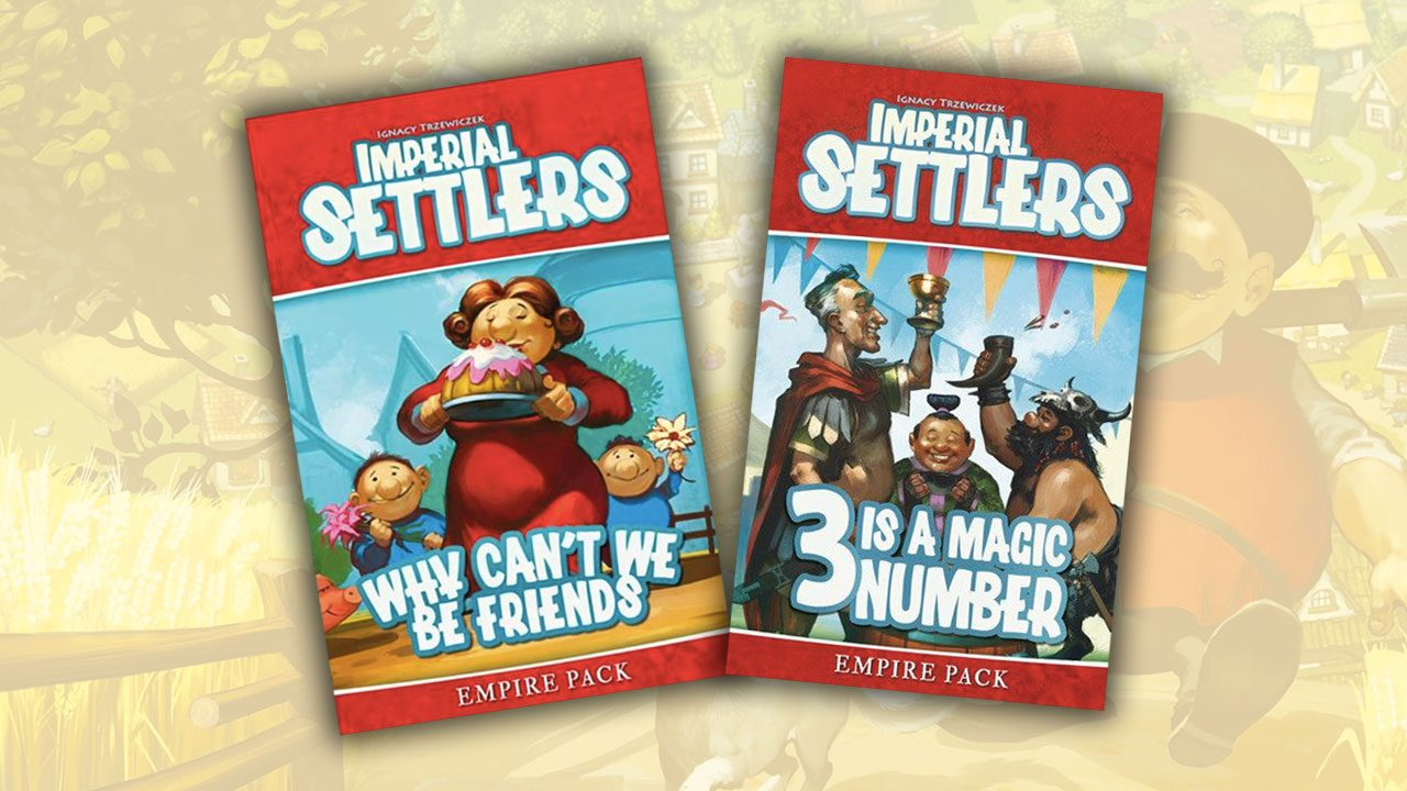 Imperial Settlers Review - The Empire Packs - Part 01 header