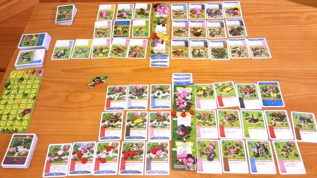 Imperial Settlers game in progress