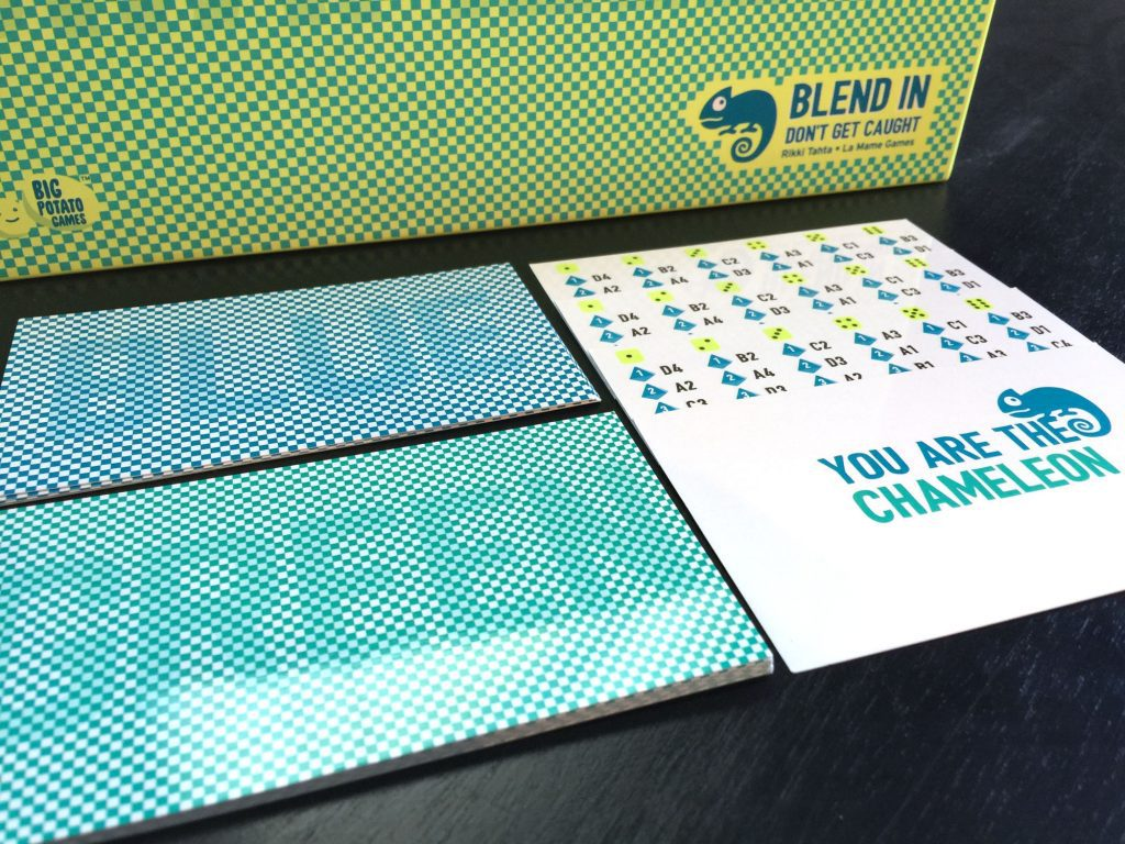 The Chameleon code cards