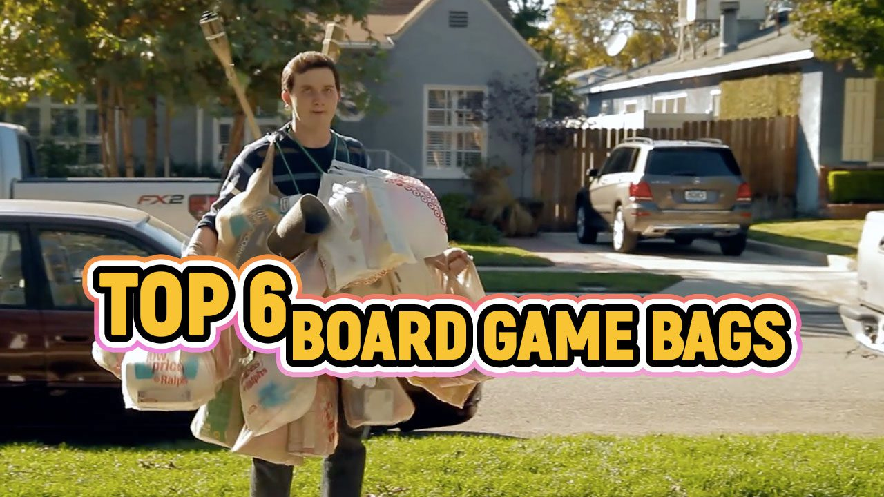 Top 6 Board Game Bags (for Conventions)