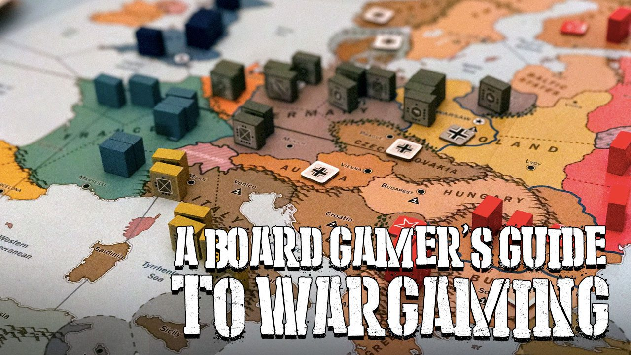 A Board Gamer's Guide to Wargaming header