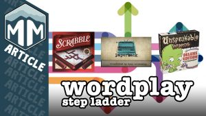 Board Game Step Ladder - Wordplay sharing