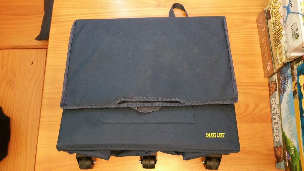 Wide Load Smart Cart folded flat