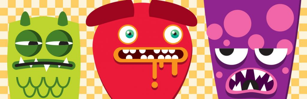 Fast Food Fear monsters