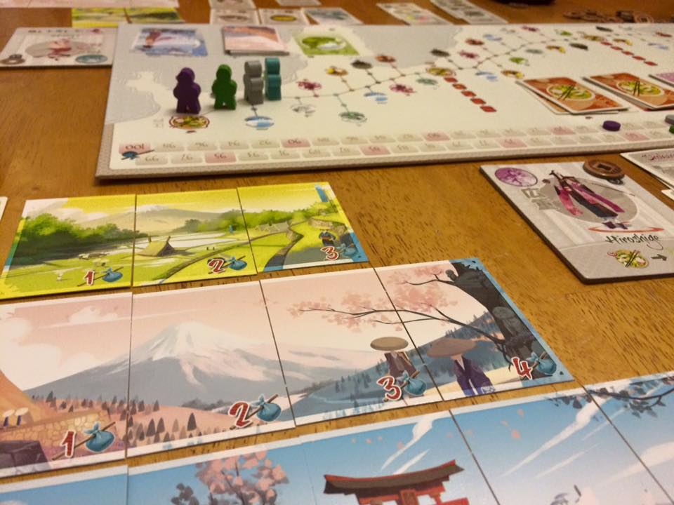 Tokaido with panoramas