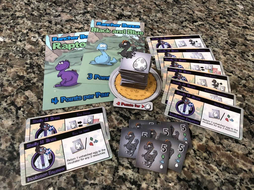 Dino Dude Ranch Hatchlings all components