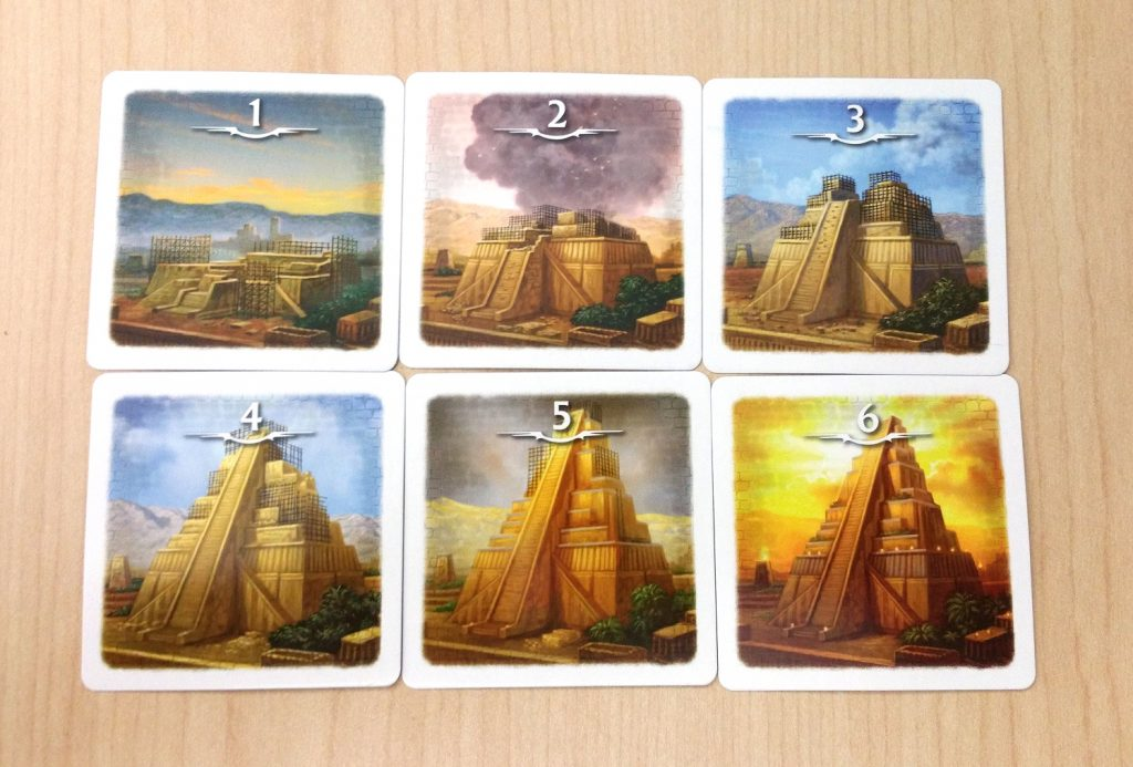Temple cards
