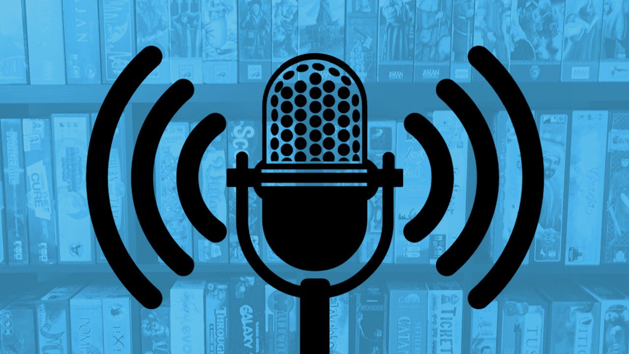 Top 6 Board Game Podcasts header