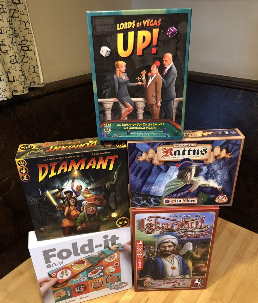 Board Game Bliss purchases