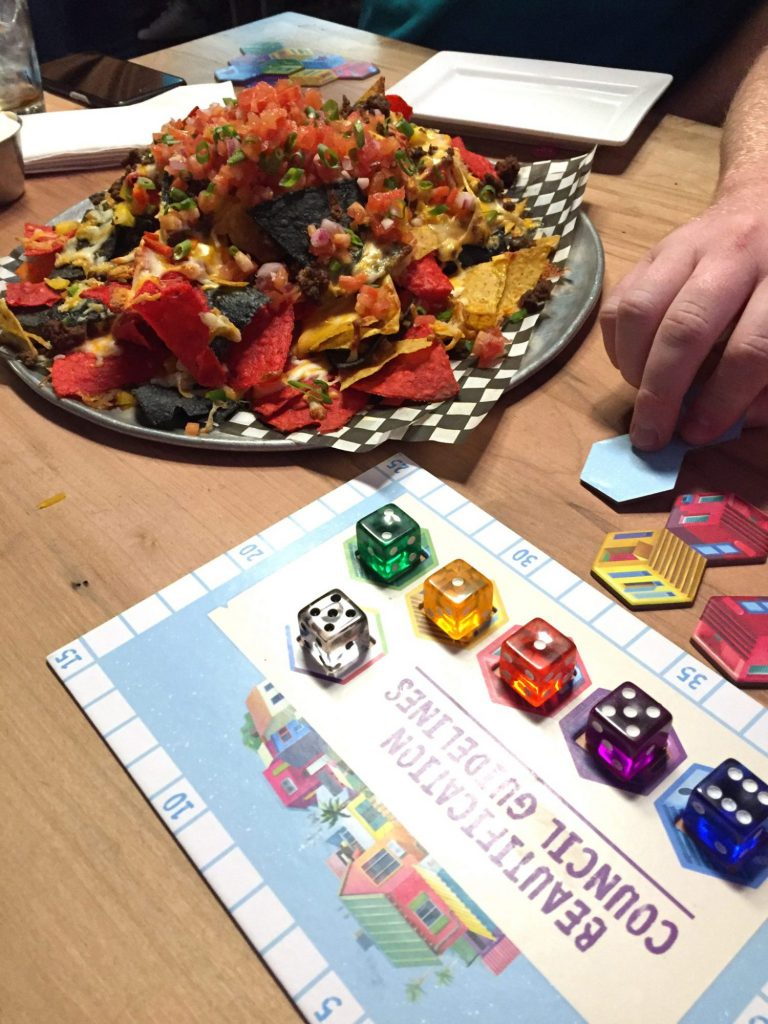 Nachos and Favelas at Snakes & Lattes