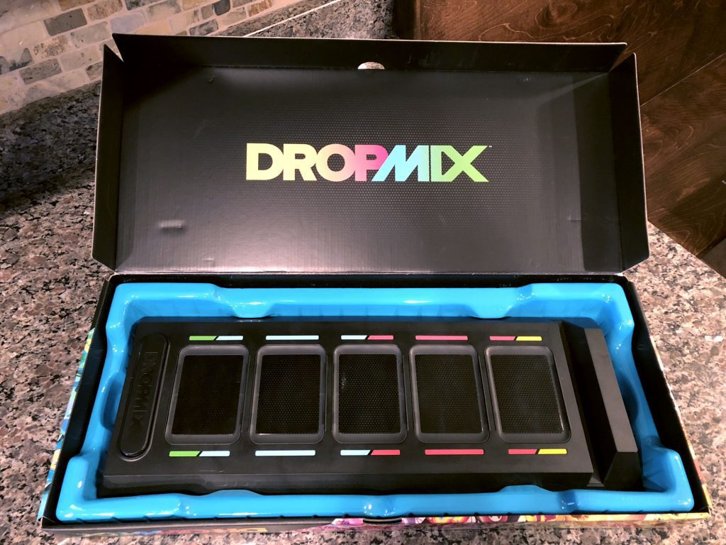 Dropmix box and board