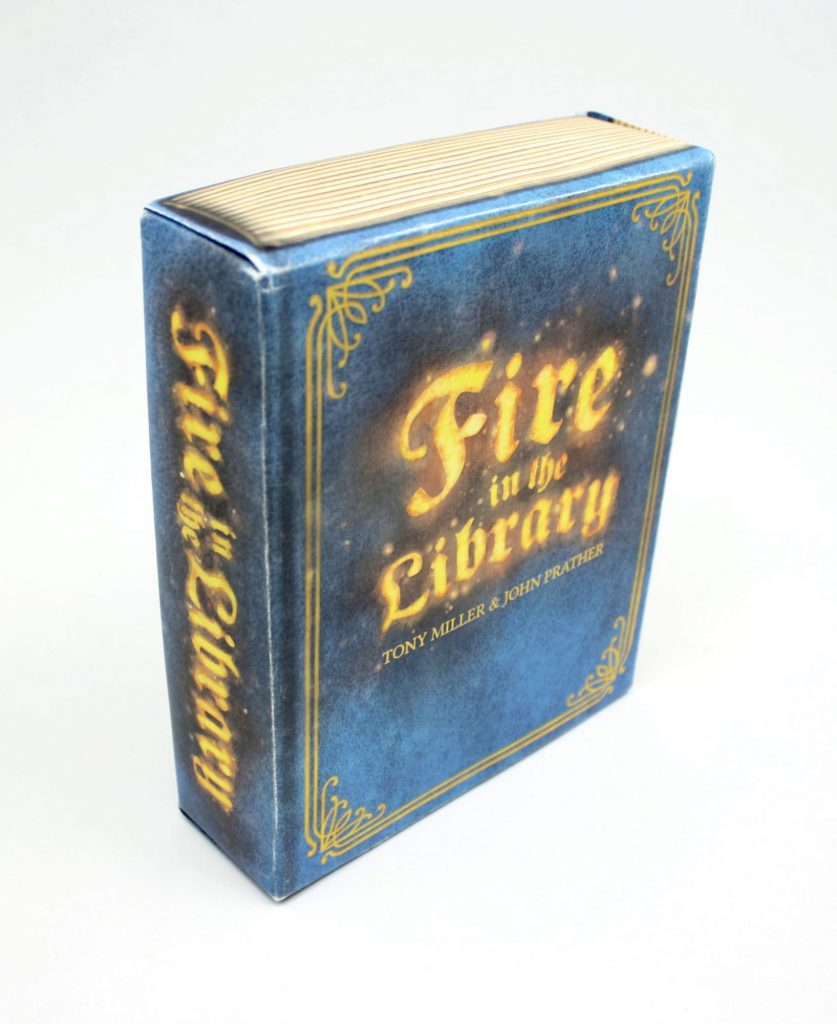 Fire in the Library box