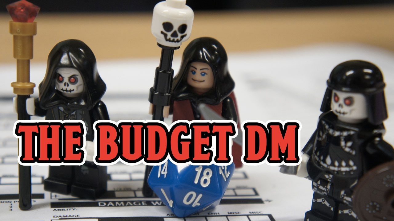 The Budget DM - Dungeon Mastering on the Cheap header