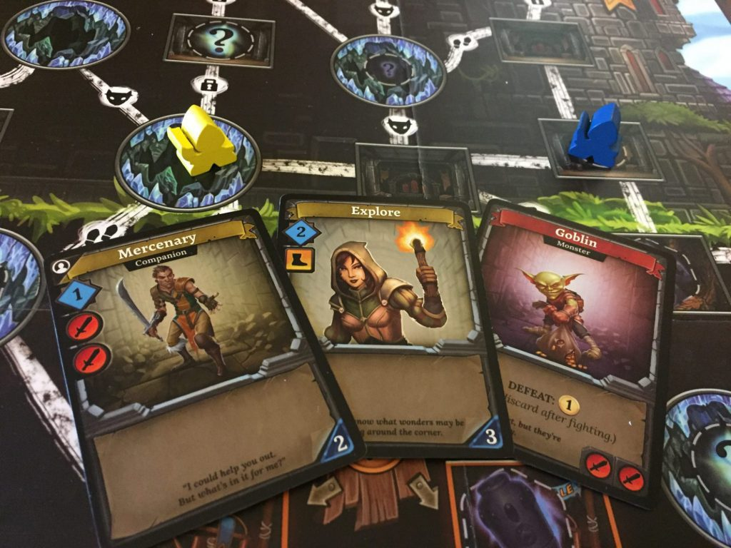 Clank! - cards