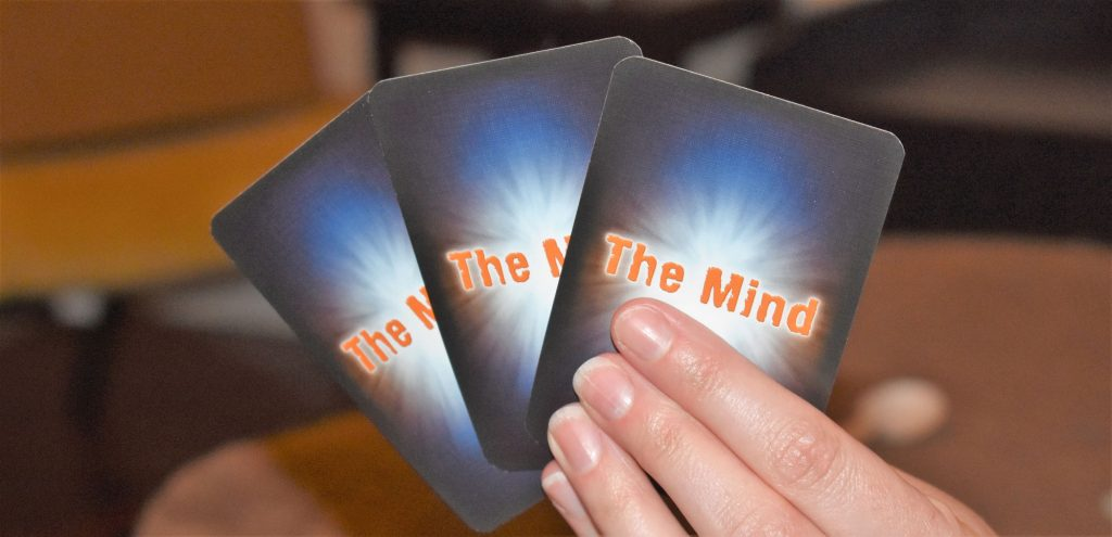 The Mind - hand of cards