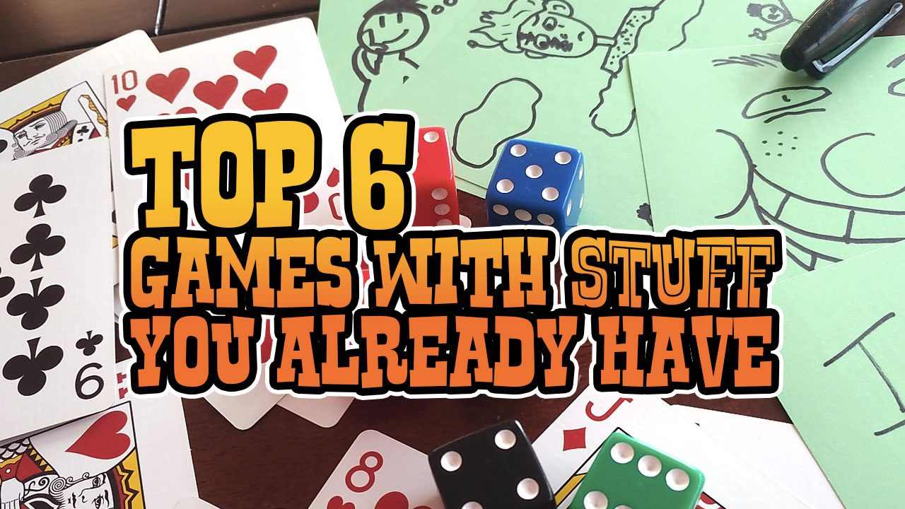 Top 6: Games With Stuff You Already Have header