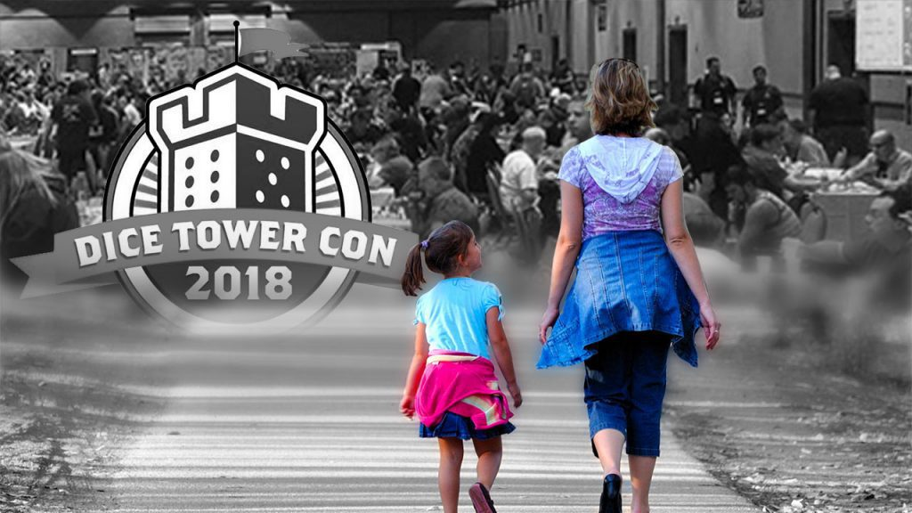 A Mother and Daughter Walk into Dice Tower Con... header