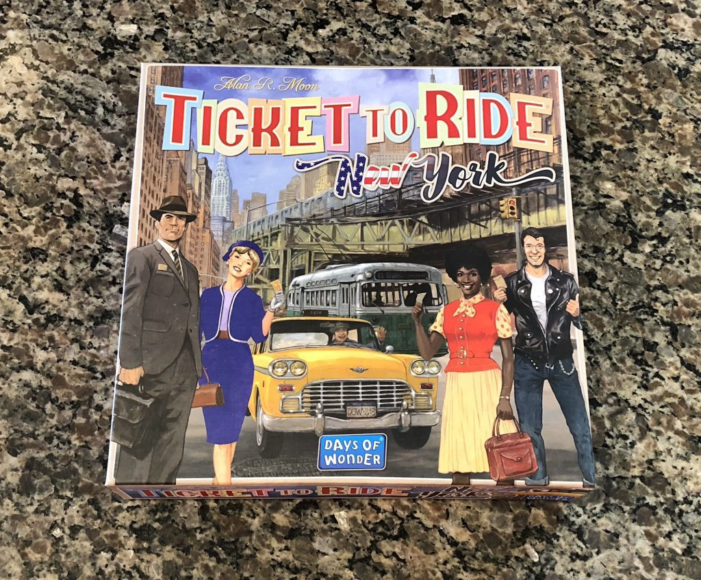 Ticket to Ride: New York cover