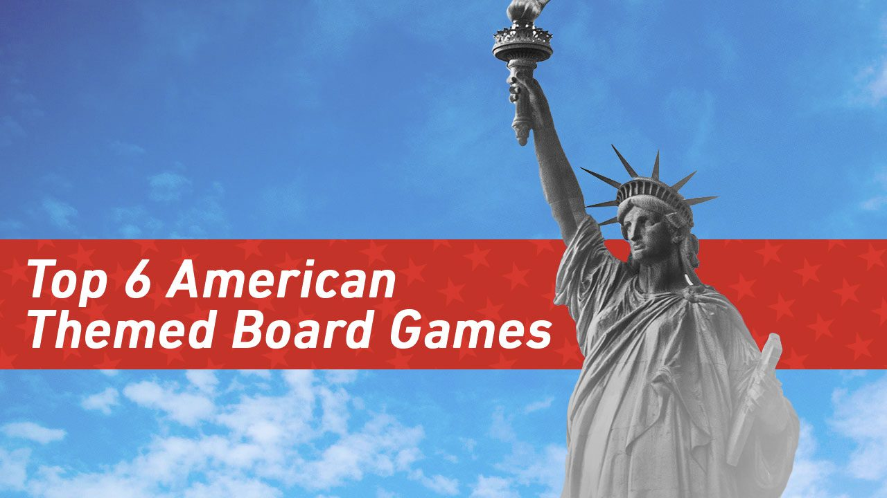 Top 6 American Themed Board Games header
