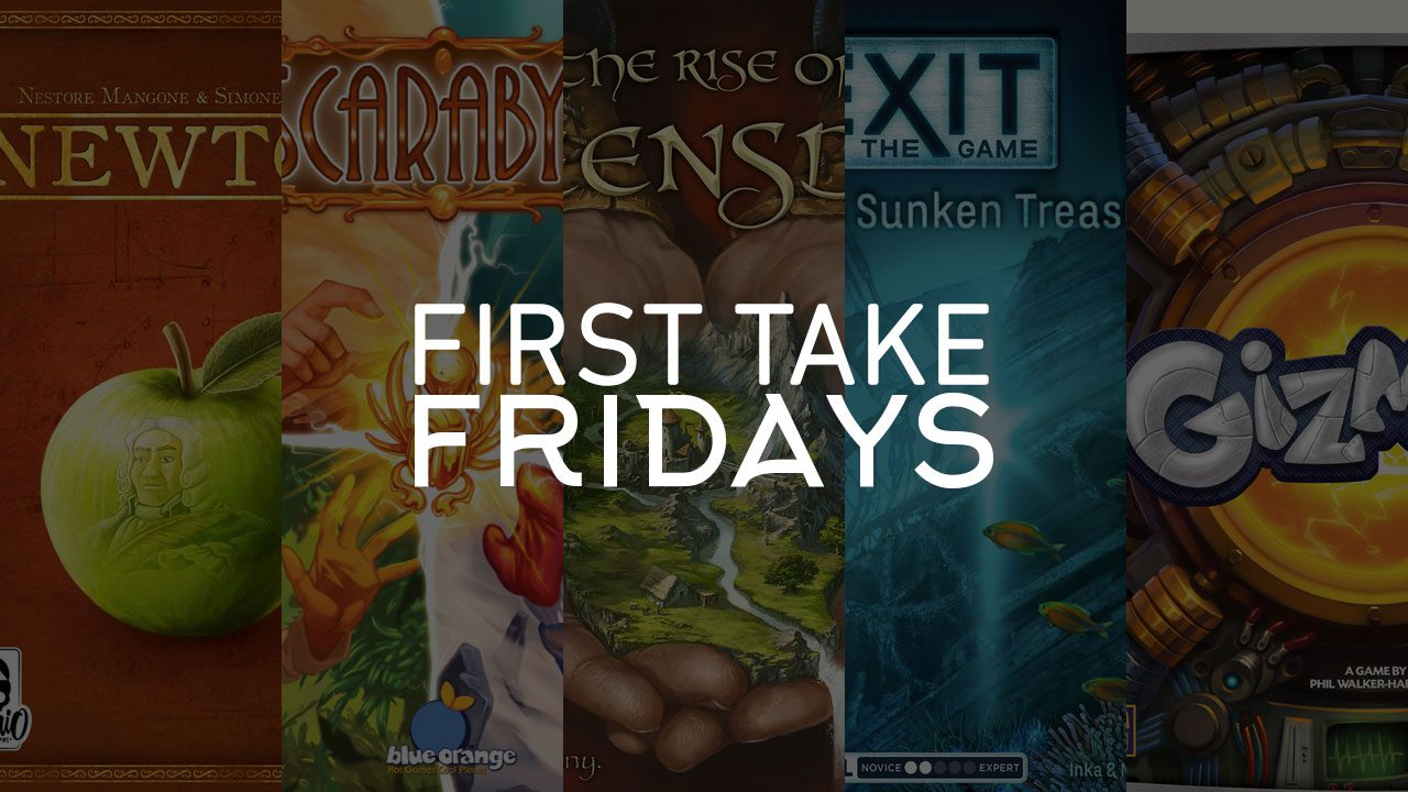 First Take Friday - Newton Exits Queensdale with Scarab Gizmos header