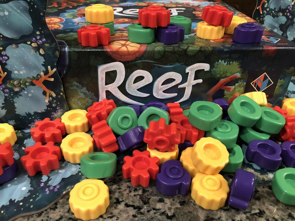 Piles of Reef pieces